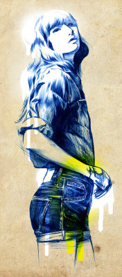 (via Julian Gallash | Ballpoint Illustrations | bumbumbum)