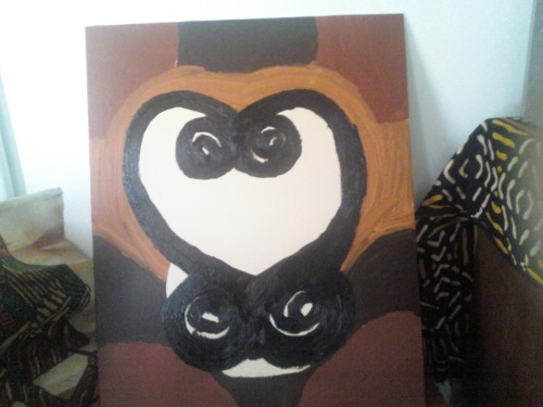 goddessangelika:  My Sankofa Painting  This woman's art is beautiful.