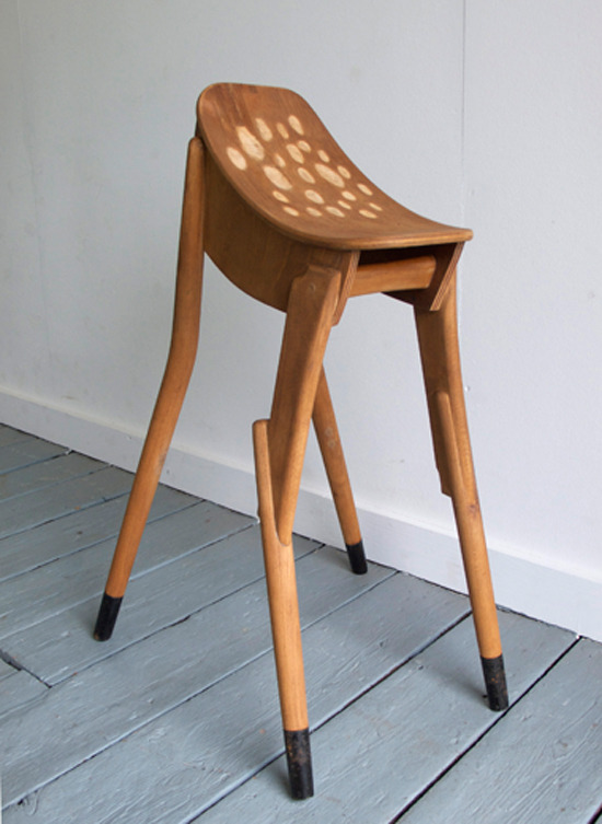 pinto:  The Bambi stool by James Plumb