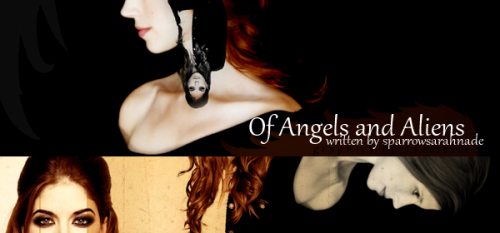 sarahnades:  Of Angels and AliensPairing: Sparrow Jennings/Anna Milton fic by sparrowsarahnadeart by sweetestel