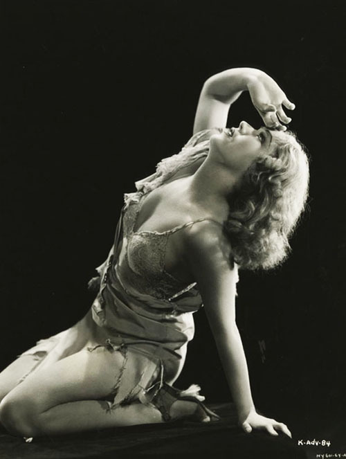 vintagegal:  Fay Wray in King Kong (1933)