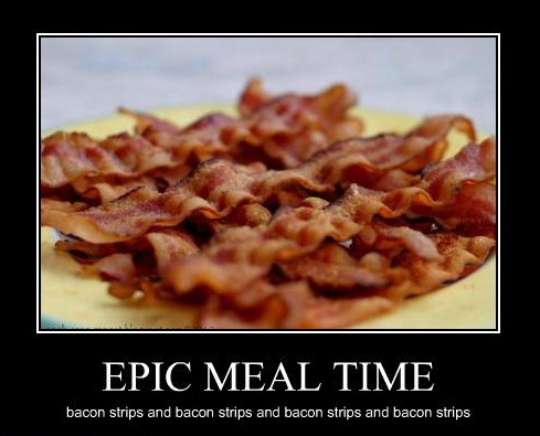 shitthatsrandom:  Bacon Strips