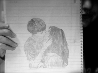 I always wanted to show you this… This was drawn on 5-5-09…. now it's 2011… and we're finally back together. <3 After all these years, I never forgot about you… and I'm so thankful because… you never let me escape your mind either.