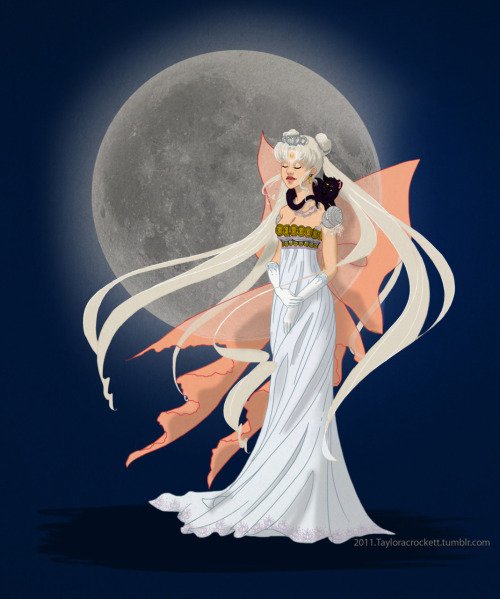 'Neo Queen Serenity/ Usagi Comes Full Circle'. I fell in love with Shoomlah's [http://shoomlah.tumblr.com/] 'Historically Accurate Disney Princess Series' and couldn't resist doing a little fanart in a similar composition. Not that this is historically accurate since NQS existed in the 30th century…Sometimes fanart is awesome practice to get one out of a complete rut.