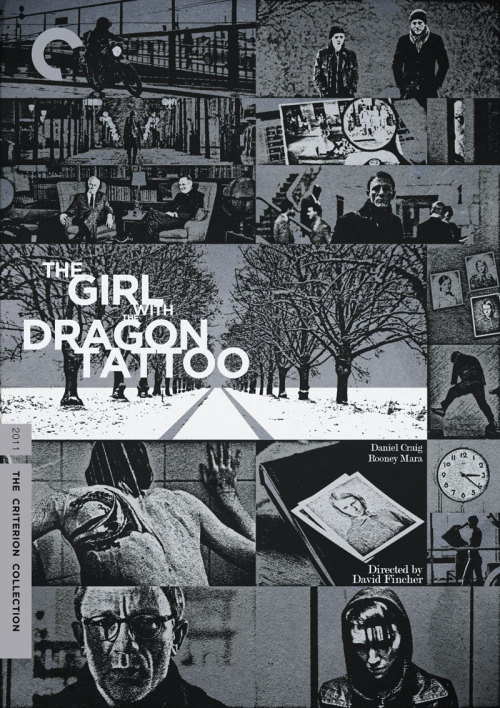 "Criterion Cover for David Fincher's ""The Girl with the Dragon Tattoo"""