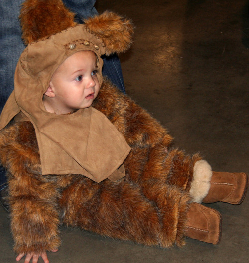 Kids in Ewok costumes are so much cuter than actual Ewoks!