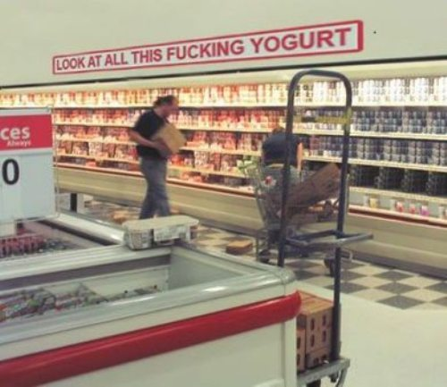 ALL THE FUCKING YOGURT…