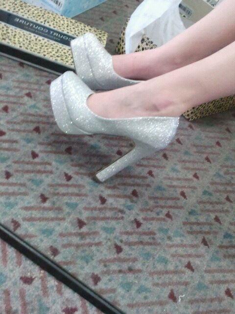 I took this when I went shoe shopping with my mum :)