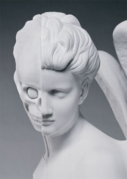 Damien Hirst, anatomy of an angel - postcard
