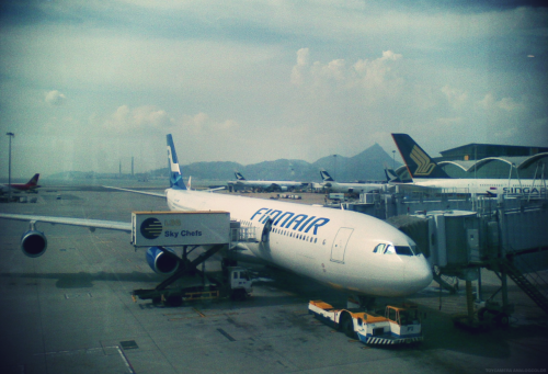 Hong Kong International Airport, August 2011.