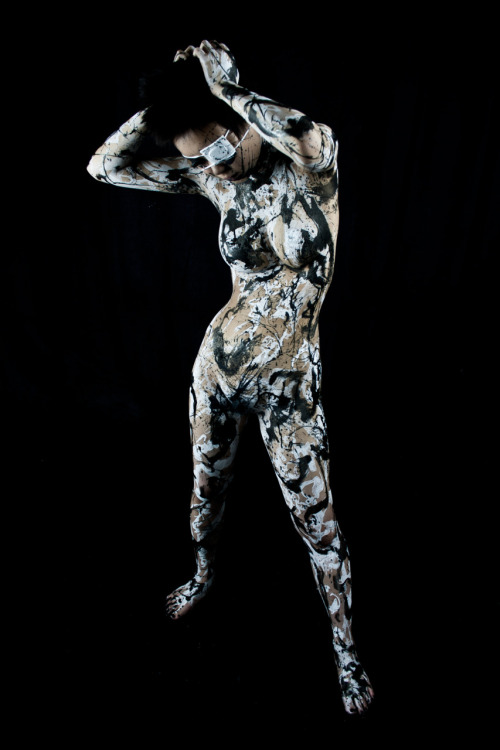 Model: 煉獄-Rengoku-Body Painter/Photographer/Photography Editor: Tensei Sugahara(菅原天齎) scene C1