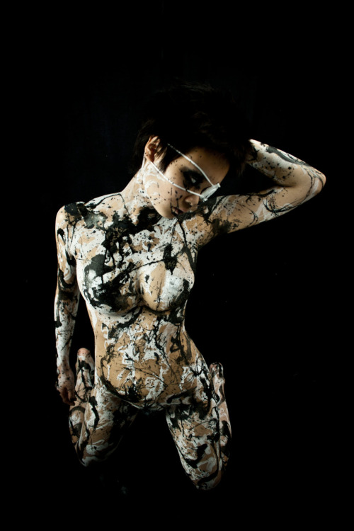 Model: 煉獄-Rengoku-Body Painter/Photographer/Photography Editor: Tensei Sugahara(菅原天齎) scene D1
