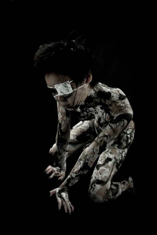 Model: 煉獄-Rengoku-Body Painter/Photographer/Photography Editor: Tensei Sugahara(菅原天齎) scene F1