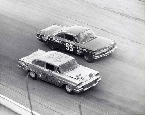 Ford vs Pontiac Nascar 1960