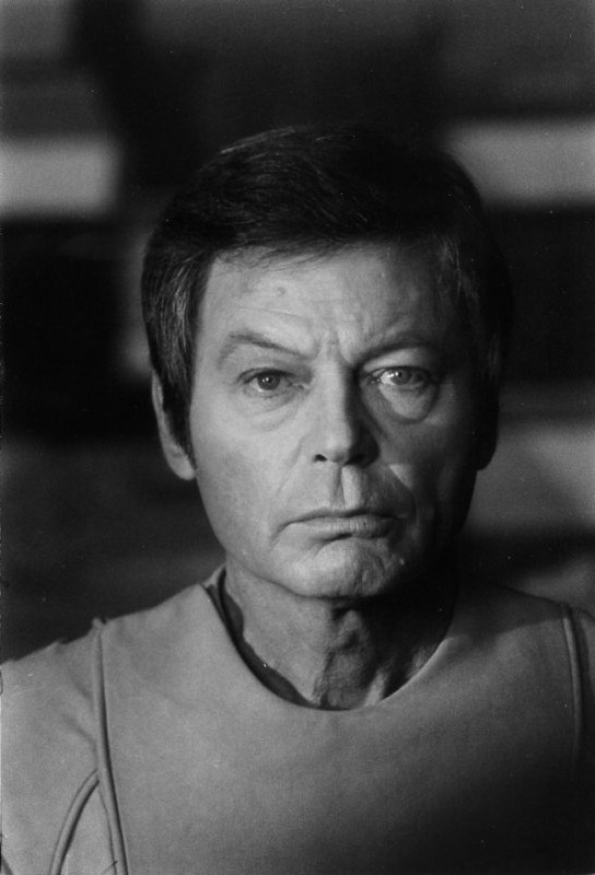 DeForest Kelley as Dr. Leonard McCoy, Star Trek: The Motion Picture ((Like This?  Check Out My Archive and Follow Me!))