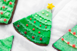 Gingerbread Tree Cookies