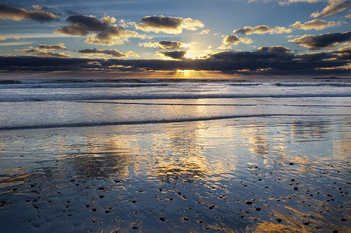 Sunset, Long strand, West Cork, Ireland (by 2c..)