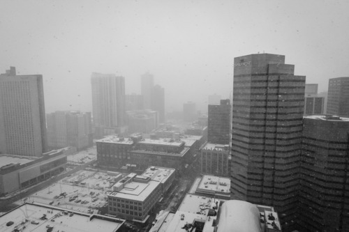 thinkmorales:  Colorado - Downtown Denver - 12.1.2011 Happy holidays!