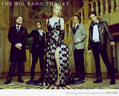 Chic Geeks. This is so fabulous.  I love The Big Bang Theory.