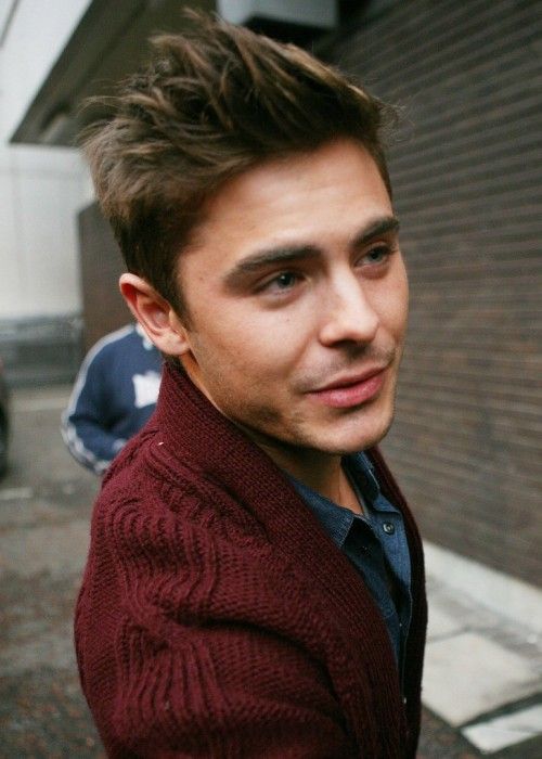 Zac Efron | London, 12.01