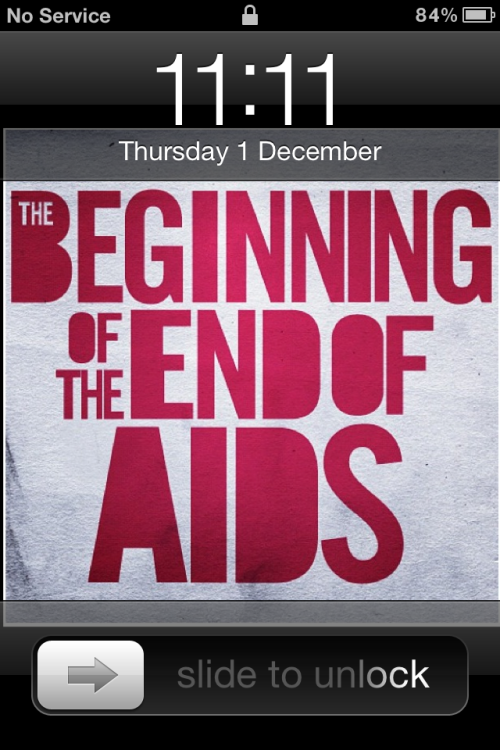 '11:11'  Today  The Beginning Of The End Of AIDS