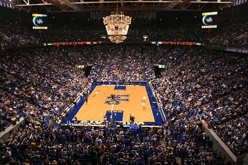 Rupp Arena. Tonight.