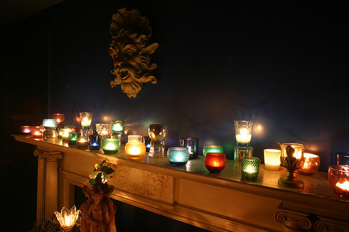 cruxansata:  Yule Altar - West (by On Being)