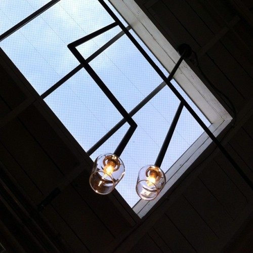 Sky lights #skylight #light #window #lamp #losangeles #abbotkinney (Taken with instagram)