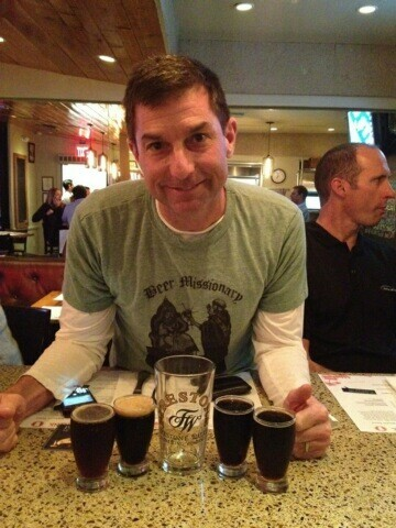 The Beer Missionary enjoying the Velvet Merlin, Black Xantus, and XV @ Simmzy's Manhattan Beach, CA.