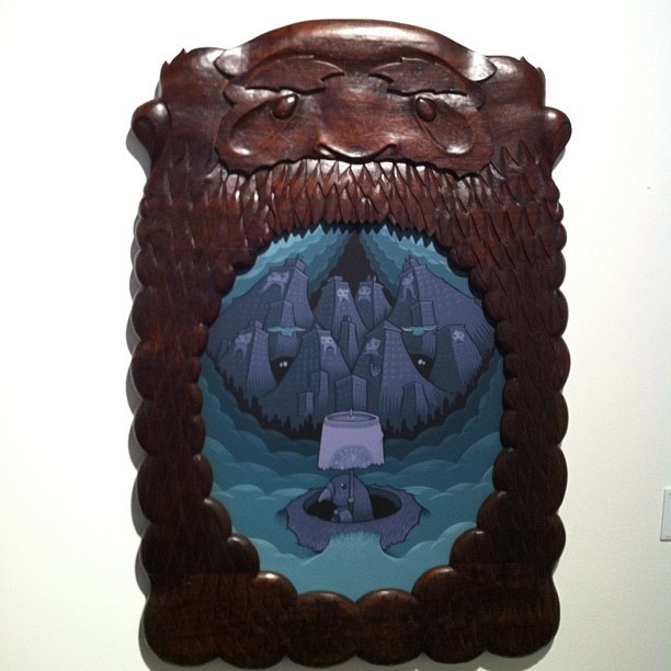 A nice new piece from Jeremy Fish at Pulse Miami Art Fair.  #artist #miami #art #artbasel #pulseart #pulsemiami #Jeremyfish (Taken with Instagram at Pulse art)