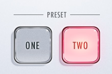 Glass Transparent Button