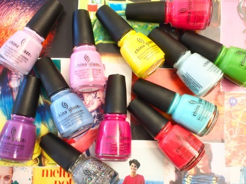 evachen212:  first delicious look @chinaglaze's spring collection, out February