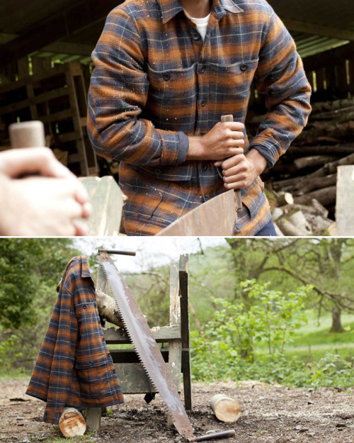 (via F R E E / M A N - Journal - Grizzly Overshirt)