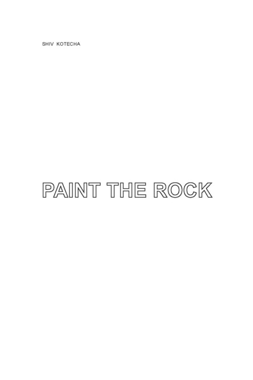 SHIV KOTECHA PAINT THE ROCK TROLL THREAD 2011 PURCHASE | DOWNLOAD