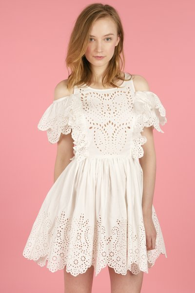 that totally epic chloe sevigny for opening ceremony eyelet cut-out pinafore is available for purchase now. i knew it would be beyond my budget. waaah.