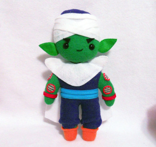 Commission - Piccolo Plush by ~misscoffee