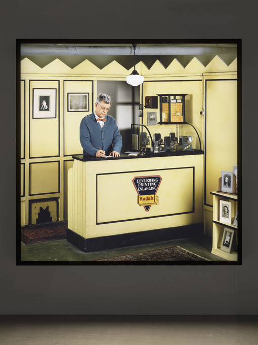 Rodney Graham is coooool.  So my work study is ovah.. which is sort of sad since I kind of liked my boss. She was swell, nice work environment even though that place was mad tiny. Had to bold that for emphasis. So now I will begin the process of being an actual grown up with an actual paying job… or well next month. This month I'll be learning the things I missed out on in school, which is mainly studio lighting and technological crap. Yay for education. Boo for being GROWN.