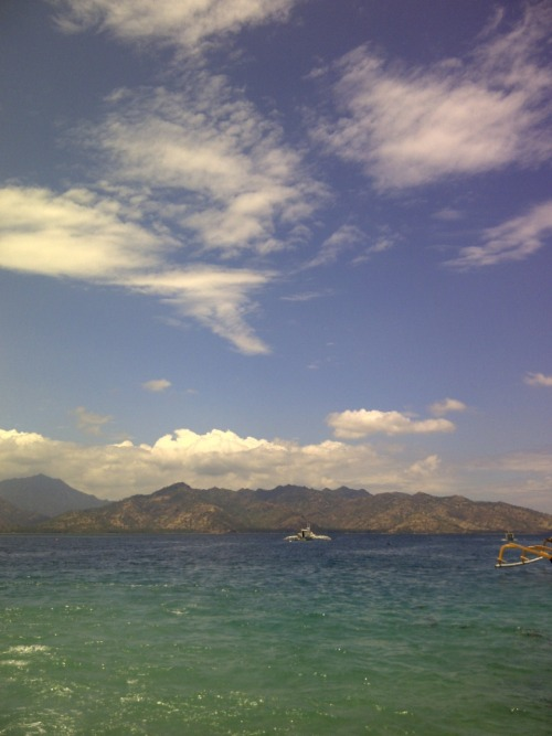 """Touch The Sky…"" (2011, Gili Trawangan)"