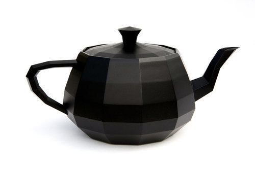 The objective of Utanalog by Unfold is to return the iconographic Utah Teapot model to its roots as a piece of functional dishware while showing its status as an icon of the digital world.