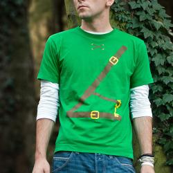 Legend of Zelda Cosplay Shirt (Front)
