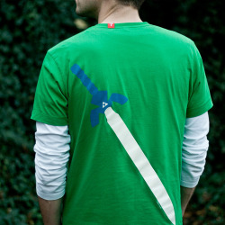 Legend of Zelda Cosplay Shirt (Back)