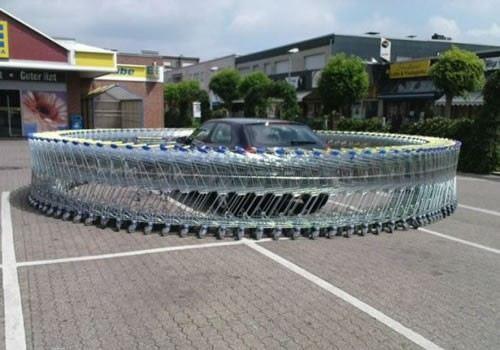 шопинг с кола