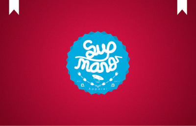 juanabad:  Sup Mang Apparel Logo. on Flickr. Juan Abad © 2011