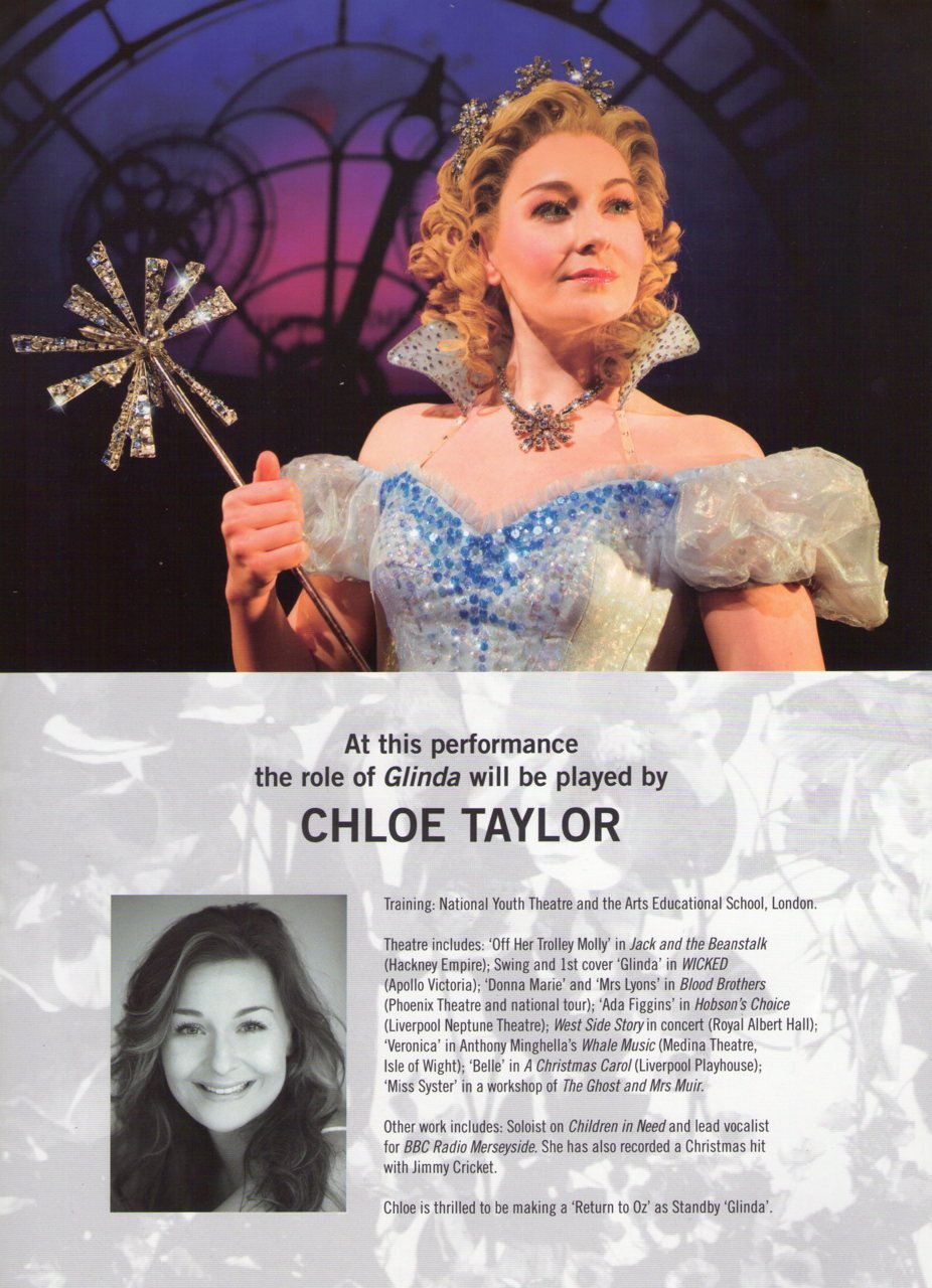 Chloe Tayor, Standby sheet. London