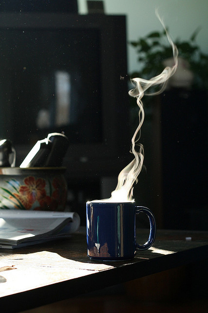 Steaming Coffee by captainmcdan on Flickr.