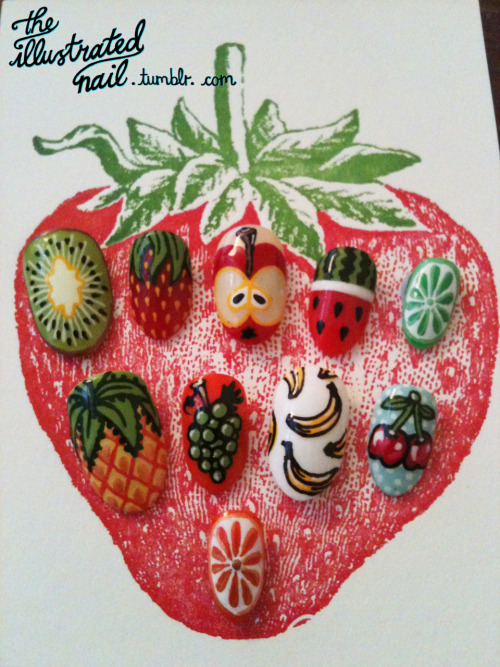 fruit nail set