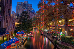 A Christmas Riverwalk by Definitive HDR on Flickr.