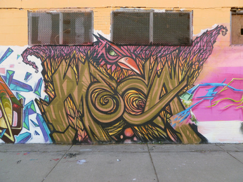MECA. Detroit 2011 on Flickr.MECA. #Detroit #Graffiti Writers. #Graff @MECA_Art