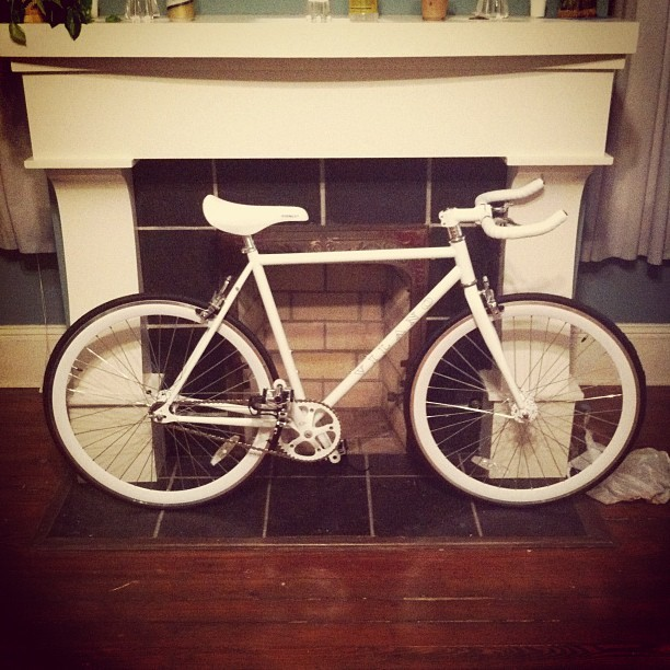 I put this bike together (Taken with instagram)