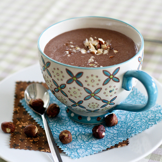 Chocolate Hazelnut Smoothie-4 by The Healthy Foodie on Flickr.